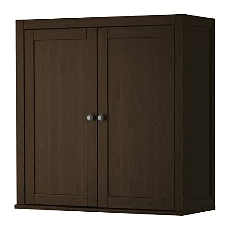 Hoekbureau Hemnes Ikea.Ikea Hemnes Add On Unit For Bureau Black Brown 89x90 Cm Amazon