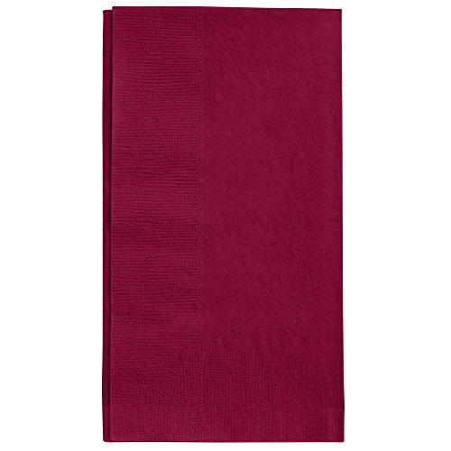 Burgundy Dinner Napkin, Choice 2-Ply, 15