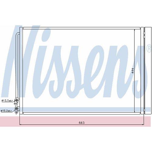 Nissens 940110 Kondensator Klimaanlage