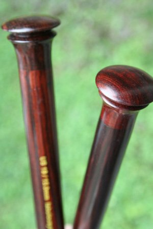 ZEN Knitting Needles - Rosewood Single Point 14 Inch (14 inch - US6/4.0mm)