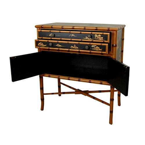 Oriental Furniture Ching Two Drawer Cabinet