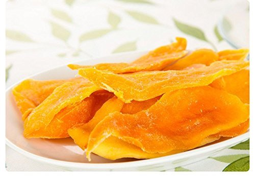 4 Pound (1816 grams) Dried peeled mango slices Grade A from Yunnan (云南芒果干片) by JOHNLEEMUSHROOM RESELLER