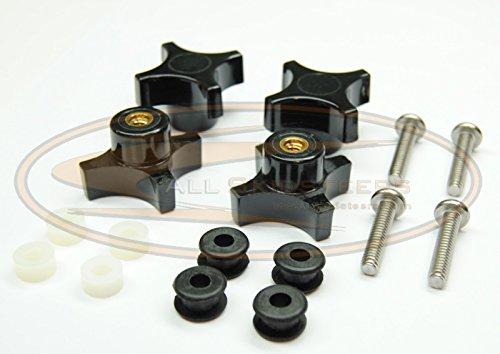Top Window Knob Kit for Bobcat Skid Steer Loaders AK-6681614-1 Industrial