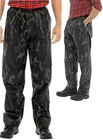 Mens Waterproof Over Trousers Camo Storm Ridge Walking / Mens Waterproof Over Trousers Camo Storm Ridge Walking