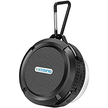 Waterproof Mini Portable Shower Bluetooth Speaker Blue w Suction Cup FAST DB2