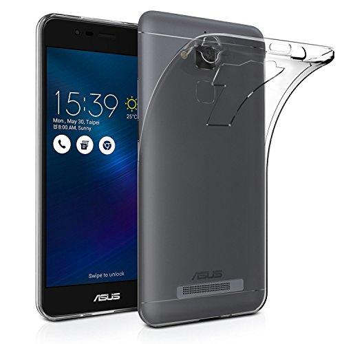 Asus Zenfone 3S Max ZC521TL Funda carcasa / caso / case, KuGi ® Asus Zenfone 3S Max ZC521TL Funda- de alta calidad caja de TPU suave estilo de esmerilado para Asus Zenfone 3S Max ZC521TL teléfono inte Claro