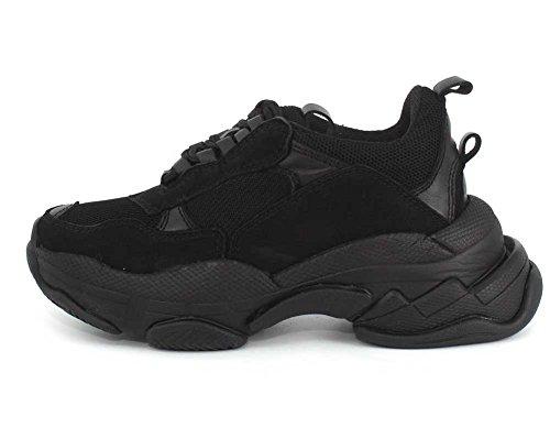 Lo Mesh Women's Black Campbell Jeffrey Sneakers Fi x1PP07