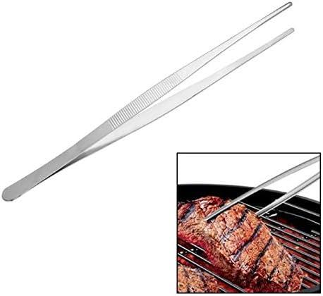 Brosse Barbecue Pinces À Barbecue Pinces À Aliments Pince À Aliments Gadgets De Cuisine Pinces En Acier Inoxydable Pince En Plastique Buffet BBQ 3 pcs (Color : 16cm) 18cm