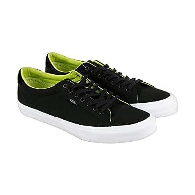 37de6daf65a7 Vans Court Canvas Mens Size 11 Black Green Glow Fashion Skateboarding Shoes