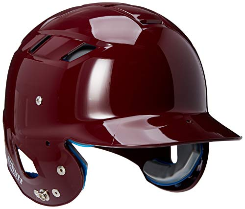 Schutt Sports AiR Maxx T Softball Batter's Helmet, High Gloss Maroon, Small ()
