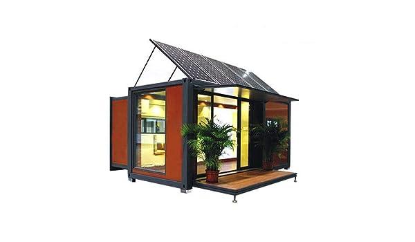 Recipiente extensible con energía solar de 20 pies/40 pies: Amazon.es: Jardín