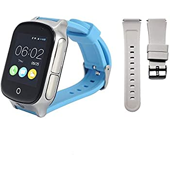 Amazon.com: 3G GPS Smart Watch Phone for Kids Elderly ...