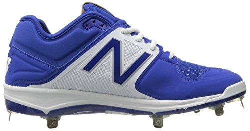 New Balance Hombres L3000v3 Metal Baseball Shoe Royal / Blanco