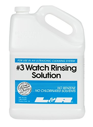 Watch Rinsing Solution (#3) - No Benzol or Chlorinated Solvents - Quick Dry - 1 Gallon by Unknown