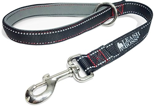 Leashboss Short Leash Padded Handle