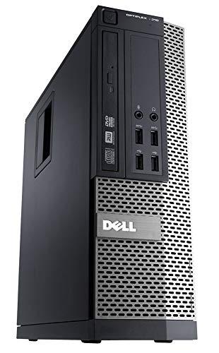 Dell Optiplex 9010 Business Desktop Computer (Intel Quad-Core i7-3770 up to 3.9GHz, 8GB RAM, 500GB HDD, DVD, WIFI, VGA, DisplayPort, USB 3.0, Windows 7 Professional) (Renewed) (Best Virtual Desktop For Windows 7)