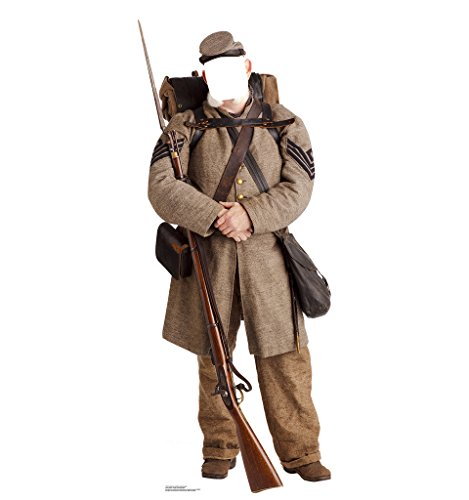 Confederate Civil War Soldier Stand-In - Advanced Graphics Life Size Cardboard Standup