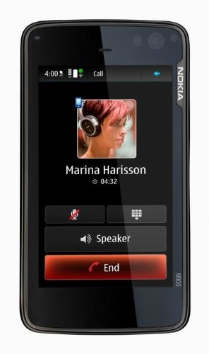 Nokia N900 Unlocked Cell Phone/Mobile Computer with 3.5 Inch Touchscreen