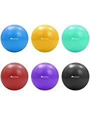 Meteor 20cm Mini Anti-Burst Swiss Ball for Pilates, Yoga, Pelvic Health, Barre, Physio Therapy, Relaxation, Posture Correction