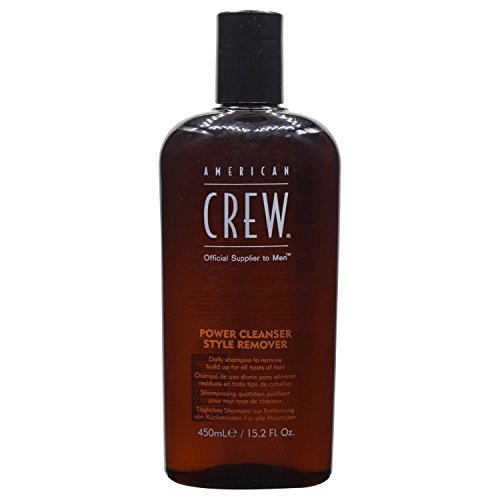 American Crew Daily Shampoo Power Cleanser Style Remover, 15.2 Ounce -