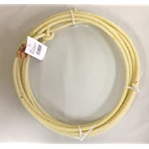 Supreme Western Kid's Rodeo 20' Lariat Rope with Leather Burner Made in USA