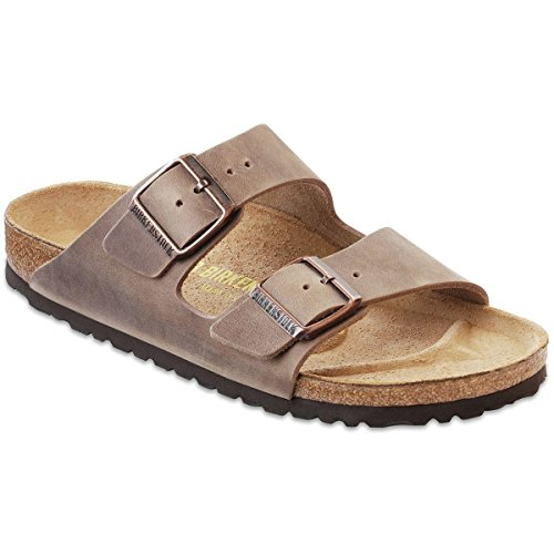 Birkenstock Arizona Leather Sandal - Women's Tobacco Oiled Leather, 41.0 ()