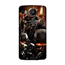 LG Nexus 5X/Google Nexus 5X Case, Premium TPU Cover [Durable] Soft Rubber Silicone Back Cover Smooth Design Game Killzone 2 Case For LG Nexus 5X/Google Nexus 5X