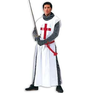 Gurimo - Disfraz de caballero cruzado para hombre (talla 52)