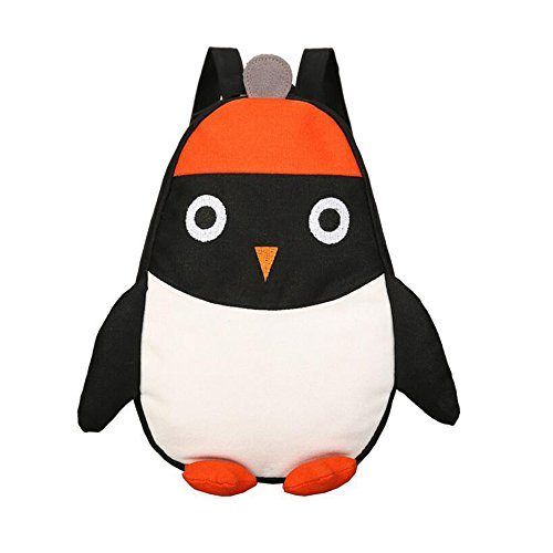 Everfunny Backpack Children Penguin Canvas