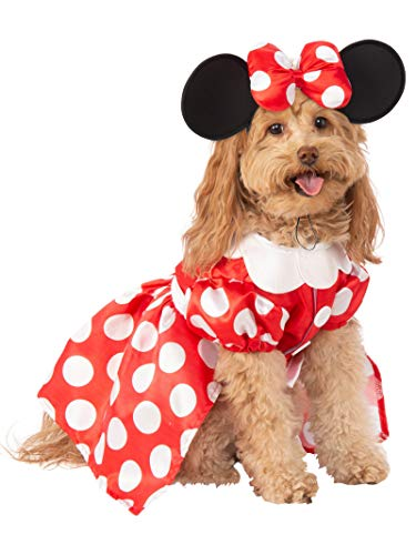 Rubie's Disney: Mickey & Friends Pet Costume, Minnie Mouse, X-Large