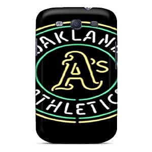 Perfect Cell-phone Hard Cover For Samsung Galaxy S3 With Customized High-definition Oakland Athletics Skin NataliaKrause