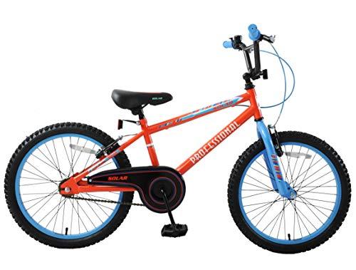Professional Solar 20″ Wheel Boys Children Childs Kids Bicycle Bike BMX Single Speed Red Blue Age 7+