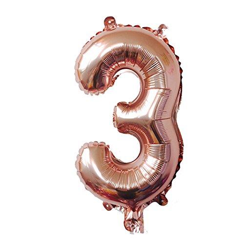 Digit Balloons Aluminum Foil Film Mylar Balloon New Year Engagement Birthday Party Anniversary(32