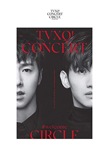 SM Entertainment TVXQ (東方神起) - TVXQ! Concert -Circle- #Welcome DVD 2DVD+Photobook+4Photocard+Folded Poster by SM Entertainment (Image #4)