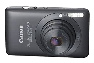 Canon PowerShot SD1400 IS 14.1 MP Digital Camera with 4x Wide Angle Optical Image Stabilized Zoom and 2.7-Inch LCD (Black)