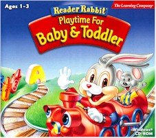 READER RABBIT PLAYTIME FOR BABY & TODDLR -
