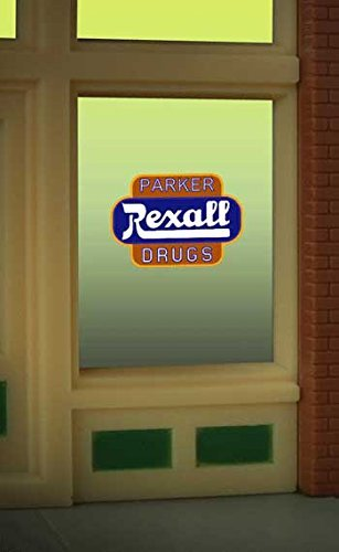 8820 Remote - 8820 Model Rexall Drug Window Signby Miller Signs