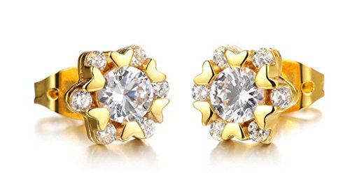 Designer Solitaire Earrings - 4