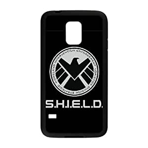 Personalized Durable Cases Gggyj Samsung Galaxy S5 Mini Black S.H.I.E.L.D Protection Cover