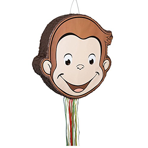 Unique Curious George Pull String Pinata