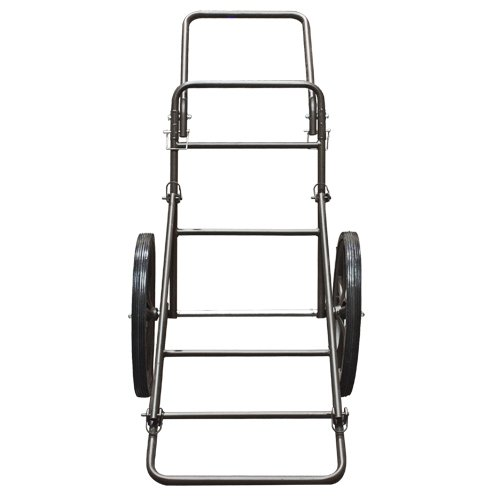 Best Choice Products 500lb Capacity Deer Game Hauler Cart Game, Gear, Hunting Accessories - Black by Best Choice Products