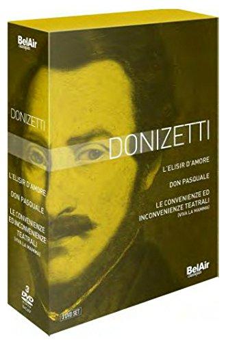 Donizetti 3 DVD Box Set -