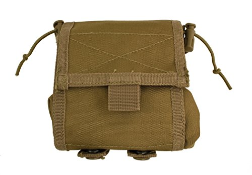 Red Rock Outdoor Gear Molle Folding Ammo Dump Pouch, Coyote