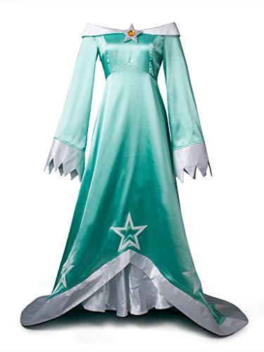 CosFantasy Princess Rosalina Cosplay Costume Party Dress mp002981 (Women S) -