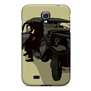 Case Cover Old Car/ Fashionable Case For Galaxy S4