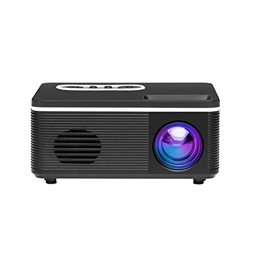 (Urnanal Portable Multimedia Mini Projector, Full HD 1080P LCD Display Projector Device Compatible with Smartphone TV PS3 PS4 X-Box ONE Wii HDMI TF AV USB)