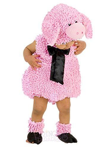Farm Animal Costumes (Princess Paradise Baby Girls' Premium Squiggly Piggy, Pink, 12-18 Months)