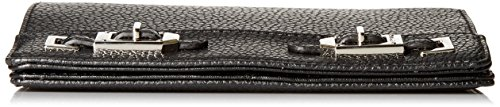 Nine West Gleam equipo slgs cartera, clutch, Negro, un tamaño Negro
