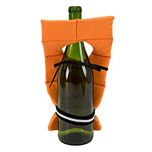 Boston Warehouse Bottle Cover with Life Preserver Design