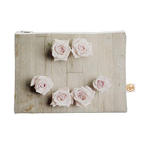 Kess eigene 12,5x 21,6cm Cristina Mitchell Smile Alles Tasche–Holz Rosen